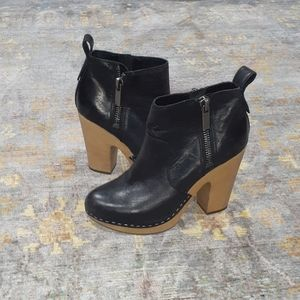 Dolce Vita Clog Ankle Booties